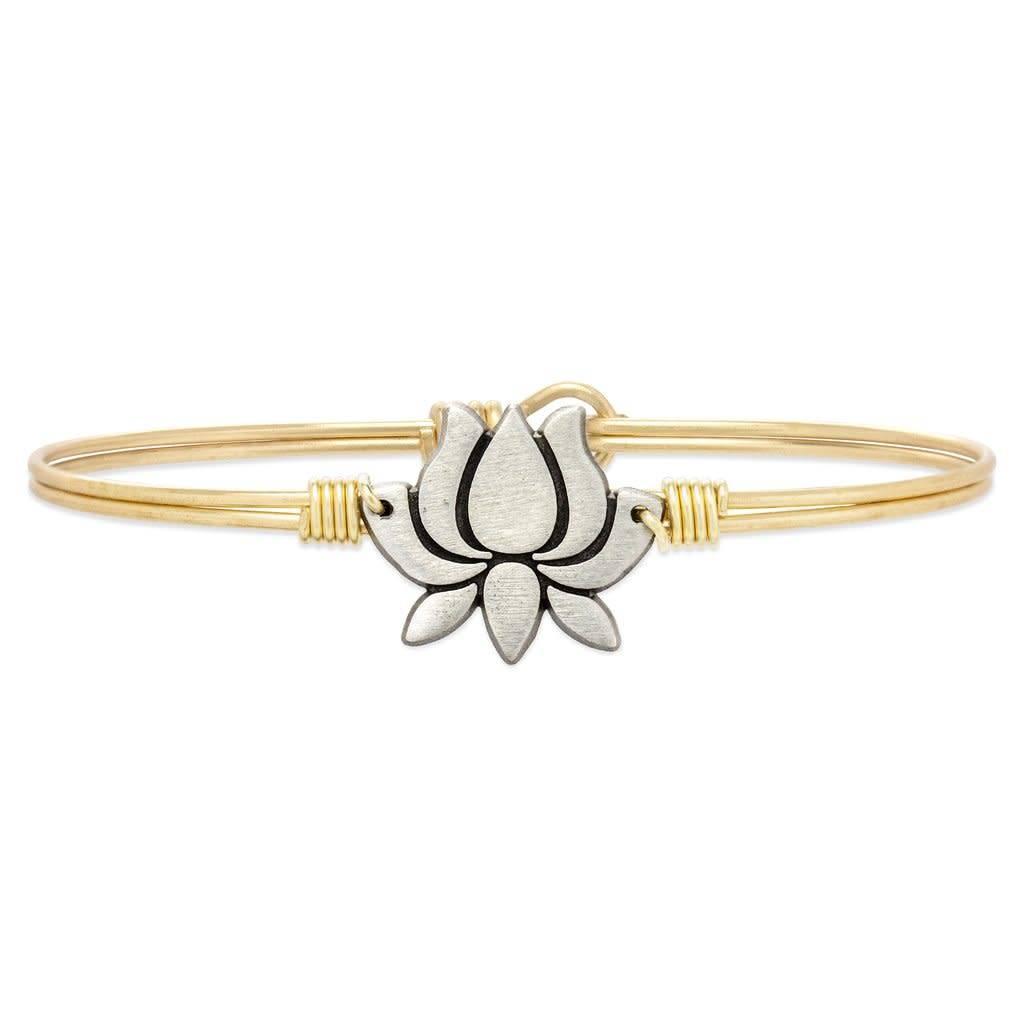 Lotus Flower Brass