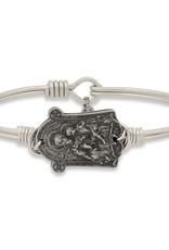 Saint Joseph on Silver