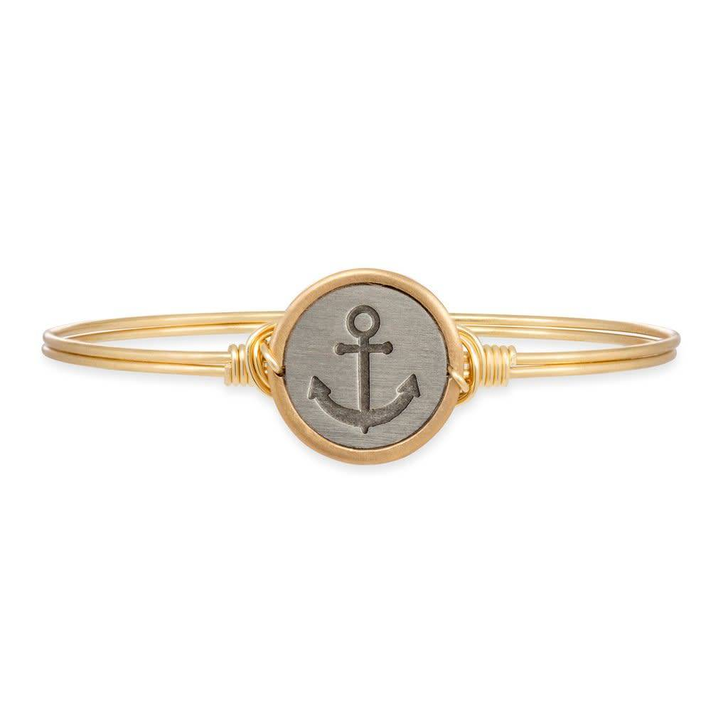 Stay Anchored on Brass