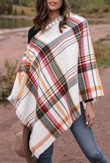 Reversible Button Scarf/Poncho