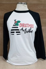 Christmas with the Tribe Baseball Tee