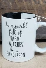 Basic Witches White Mug