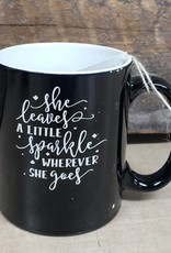 Sparkle Black Mug