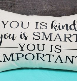 You Is Kind 12x18 pillow