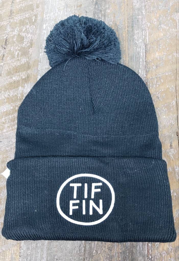 Tiffin Circle Beanie with Pom Pom