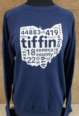 Tiffin 2017 Navy Crewneck Sweatshirt