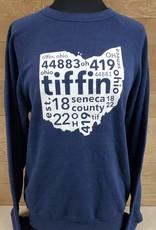 Tiffin 2017 Navy Crewneck Sweatshirt