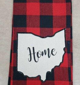 Buffalo Check Home Ohio Towel