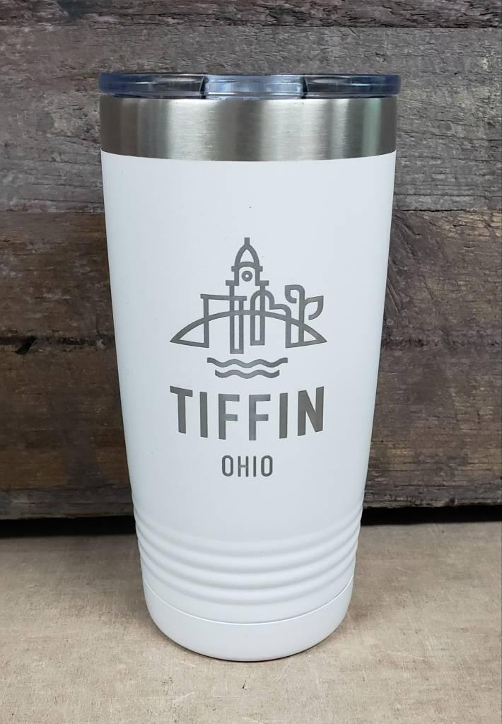 20 oz Tumbler Tiffin Logo