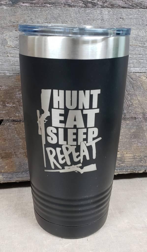 20 oz Tumbler Eat Sleep Hunt