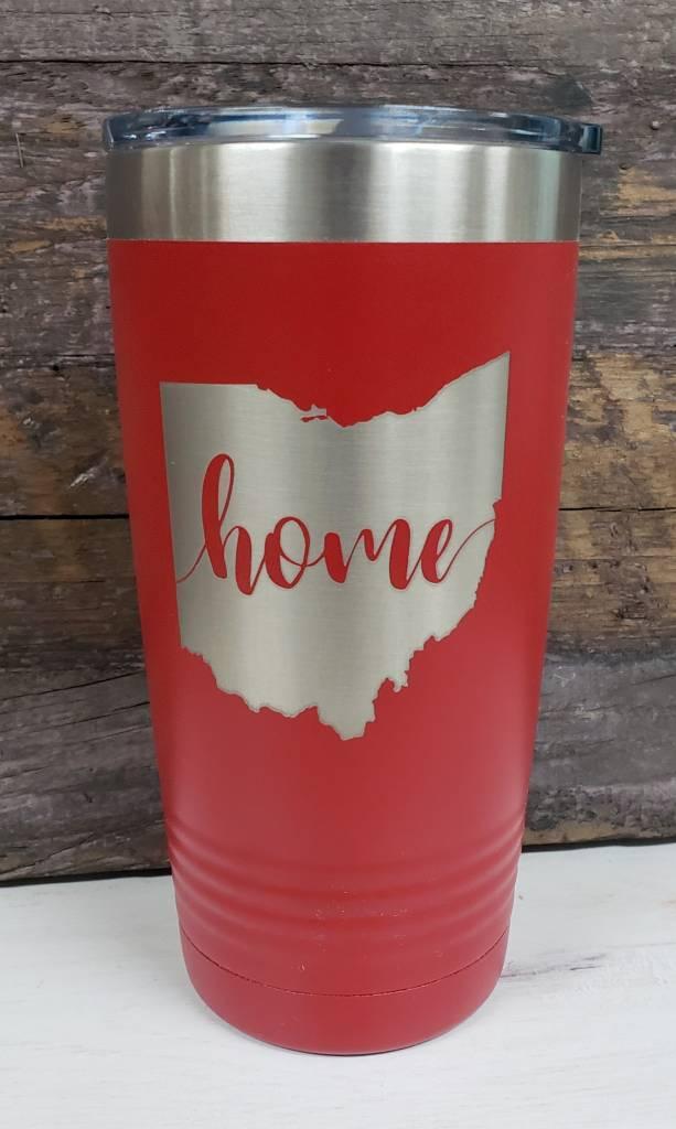 20 oz Tumbler Ohio Home