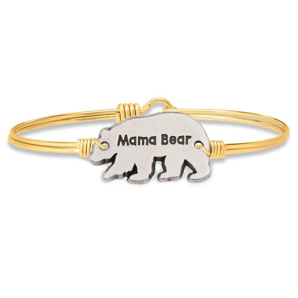 Mama Bear on Gold