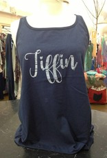 Tiffin Dark Blue Tank Top