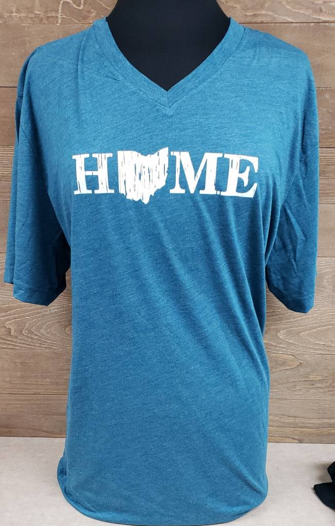 Home V Neck T Shirt