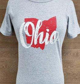Ohio Short Sleeve Crew Neck
