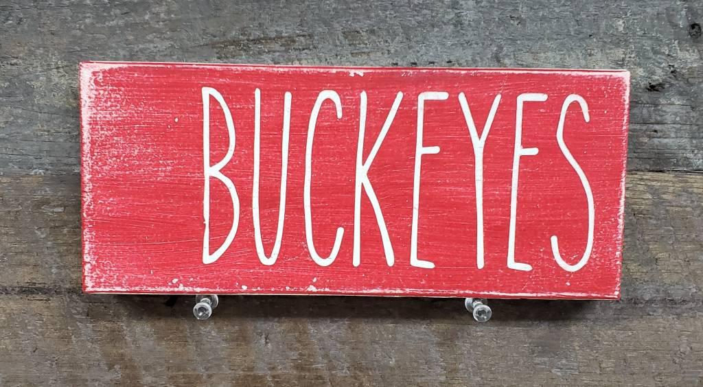 3.5x8 Red Buckeyes