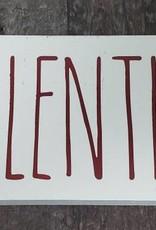 4x12 Valentine w/ Hearts Sign