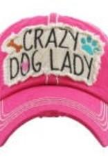 Vintage Hat Crazy Dog Lady