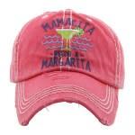 Vintage Hat Mamacita Needs A Margarita