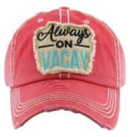 Vintage Hat Always on Vacay