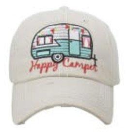 happy camper hat