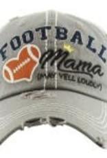 Vintage Hat Football Mama