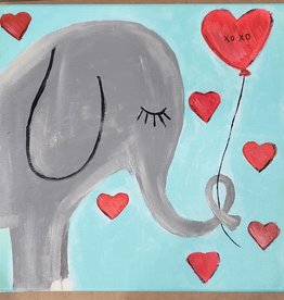 ELEPHANT PAINTING CLASS SAT 3/9/19 11AM