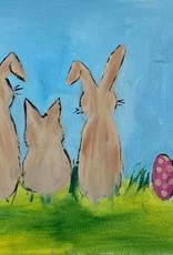 EASTER BUNNY PAINTING CLASS SUN 4/13/19 11AM