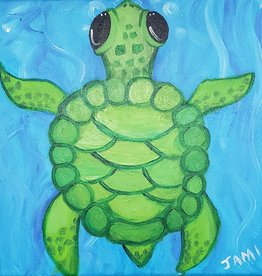 Sea Turtle Painting Class SAT MAY 4TH 11AM