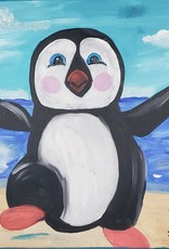 Penguin Painting Class SUN JULY 14TH 1PM