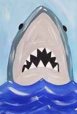 Shark Painting Class SUN JULY 21ST 1PM
