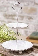 Two-Tier Candy Dish, 9.25""
