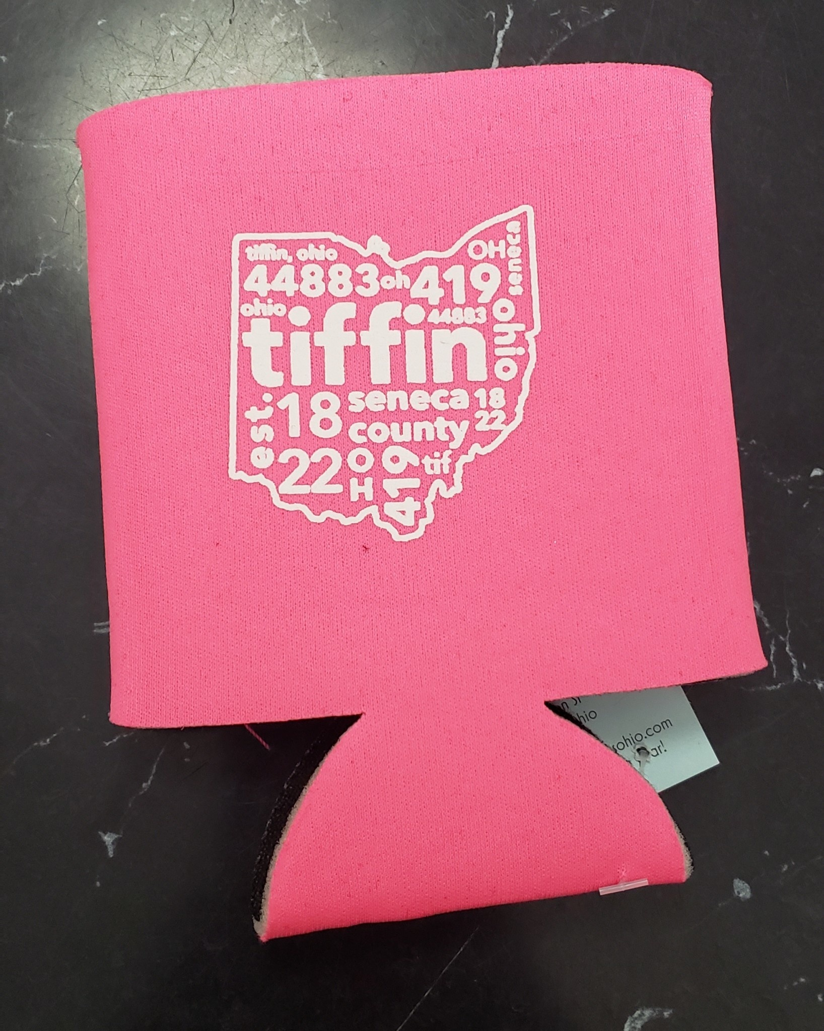 Tiffin Ohio Can Koozie