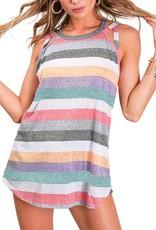 Bessie Stripe Knit Crisscross