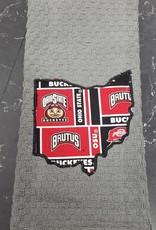 Brutus Buckeye Gray Ohio Towel