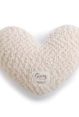 Cream Giving Heart