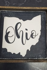 6x6 ohio black framed