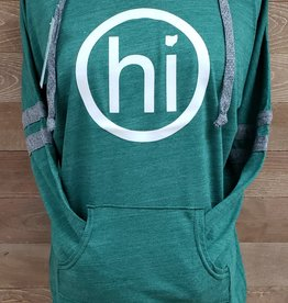 OhiO Green Striped Hoodie