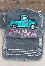 Vintage Hat Jesus Take the Wheel