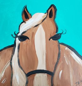 Horse Painting Class SAT 9/7 2:30PM