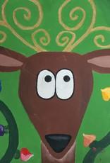 Reindeer Painting Class SAT 12/14 2:30PM