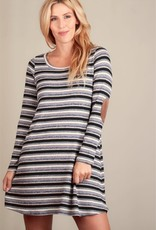 val elbow patch dress