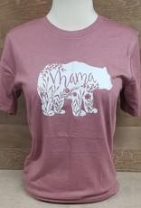 Mama Bear Crew Neck T Shirt