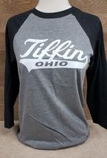 Tiffin Ohio Script Baseball Tee