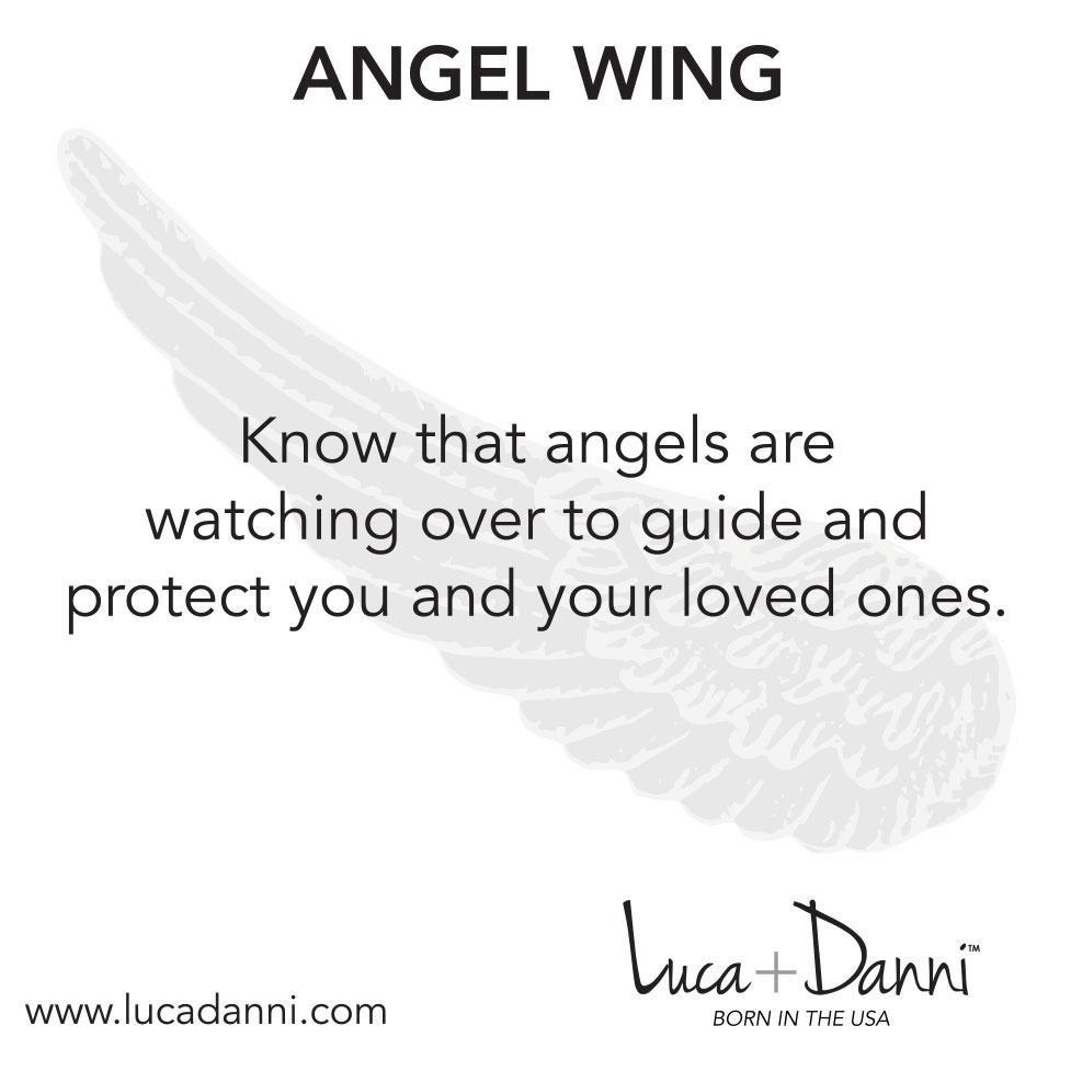 Angel Wing Silver ST378