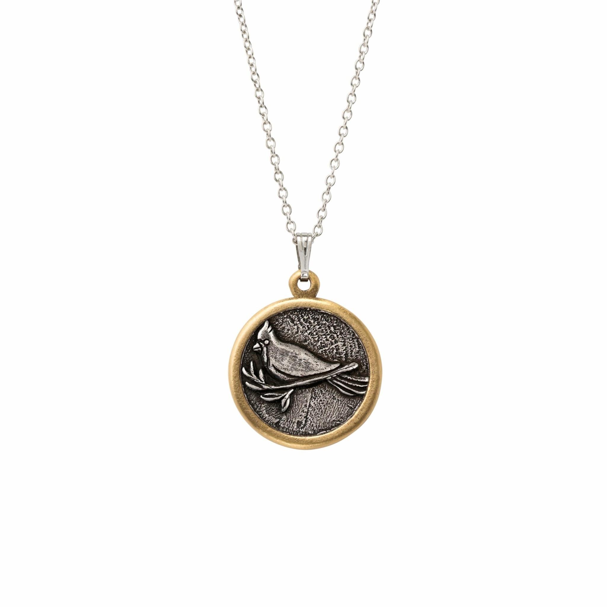 Cardinal Necklace Silver NK235S