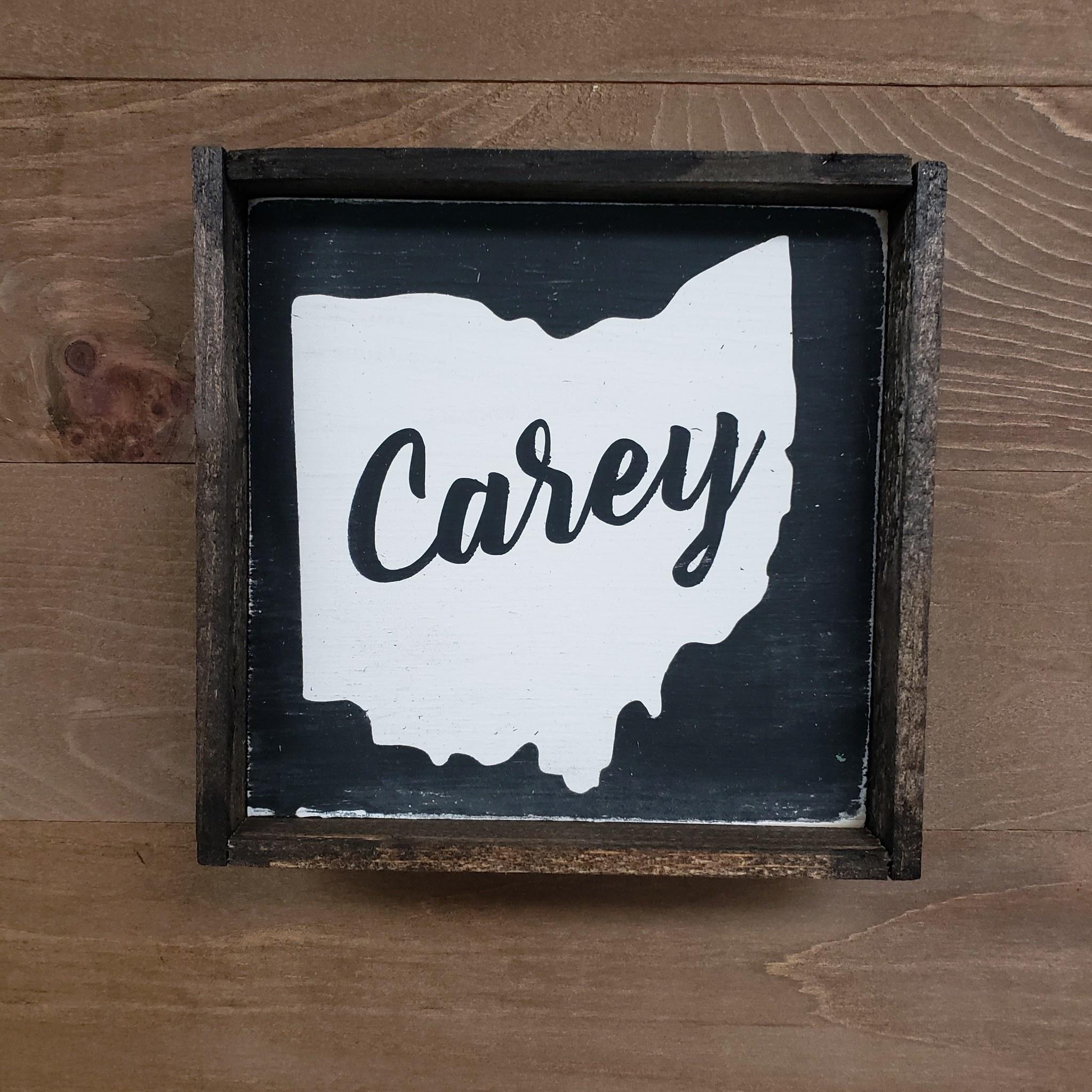 6x6 Ohio Local Framed