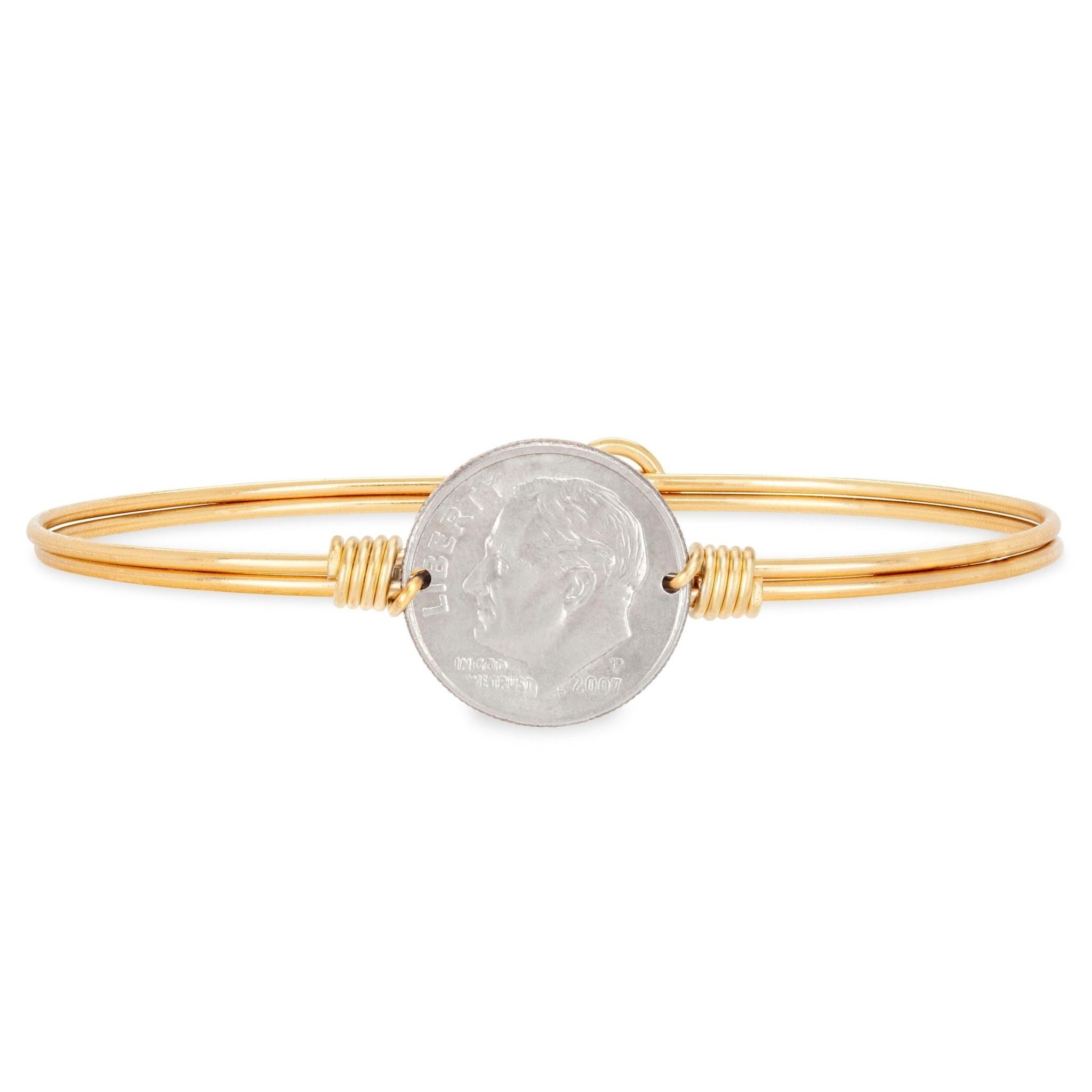 Dime Bracelet Brass STC915