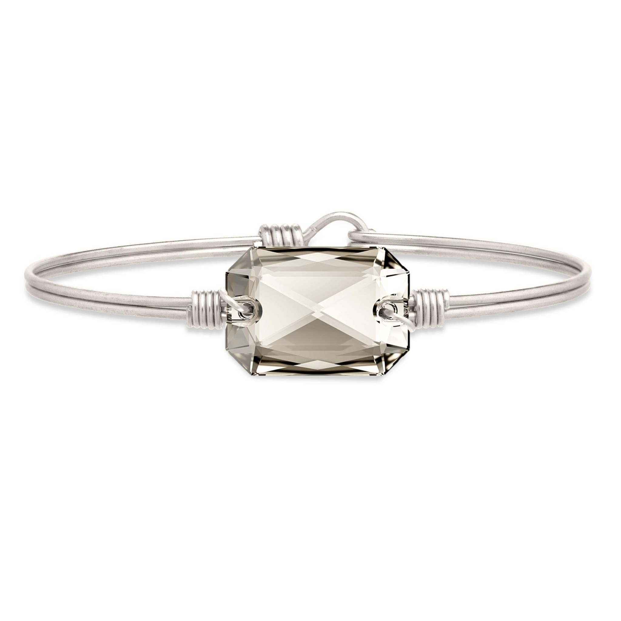 Dylan Bangle Silver on Silver