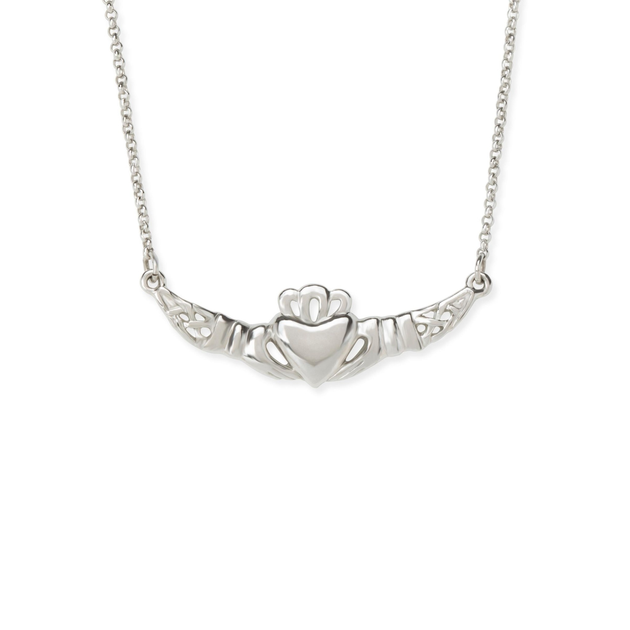 Love Loyalty Friendship Necklace Silver NK265S